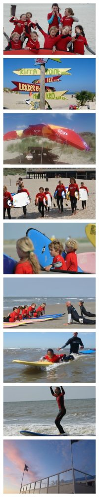 kinderfeestje surfschool surfkaravaan ouddorp