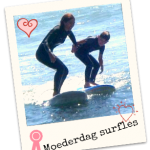 moederdag surfles surfschool surfkaravaan ouddorp