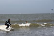 surfen op hoge hakken