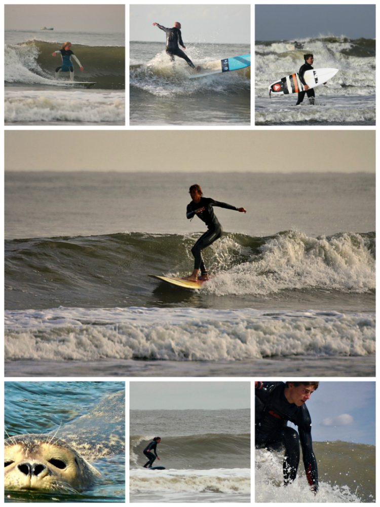 surfspot Ouddorp SurfKaravaan Surfschool