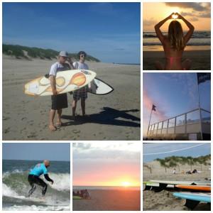 Strand Flaauwe werk surfspot ouddorp Surfkaravaan