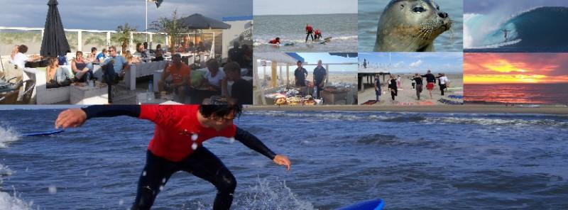 surfen voor groepen surfschool surfkaravaan ouddorp