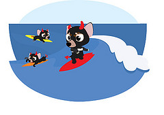 Indroppen De surf-ival gids