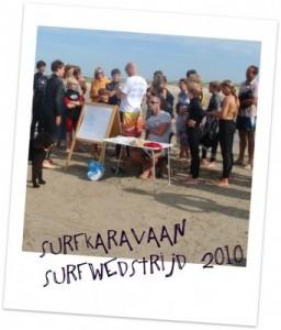 Surfkaravaan surfwedstrijd 2010