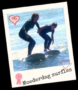 moederdag surfles