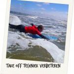 take off techniek verbeteren surfschool surfkaravaan