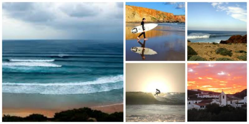 algarve surfen
